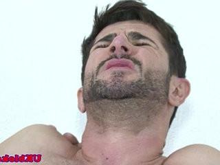 English fudge packer bum bounces on cock   cocks  muscular