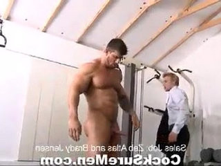 Best Male Videos Muscle giant Zeb Atlas fucks a gay man no. | fucking   gays tube   males   man movie   muscular