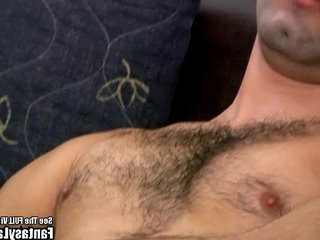Hairy Latin Punk Beats His Cock On Couch | cocks   hairy guy   latinos man   outdoors
