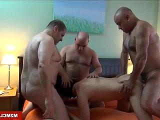 Horny daddies fucking a cub | fucking  horny  uncut clips