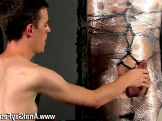 Hot twink scene Cristian is almost swinging, wrapped up in wire and | largedick  scene  twinks