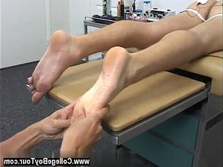 Nude men Dr. Phingerphuck kneaded my soles and while it felt | mens  nude  physicals