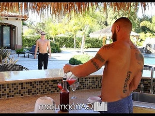 GayRoom Randall OReilly gets his ass fucked by pool | ass collection  fucking  getting  jocks