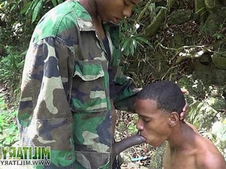 Handsome soldiers having gay oral fun | fun film  gays tube  handsome  oral  uniform