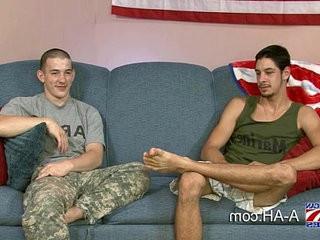 Hot Marine Fucks Army Stud | army vids  fucking  stud