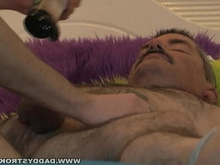 Daddy Tied Up And Jerked Off | daddy  fucking  tight movie
