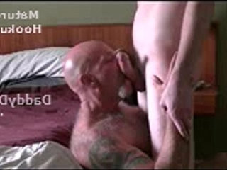 Hairy Tattooed Daddybear Sucking off a Twink and Drinking Cum | blowjobs   cums   hairy guy   sucking   tattooed   twinks