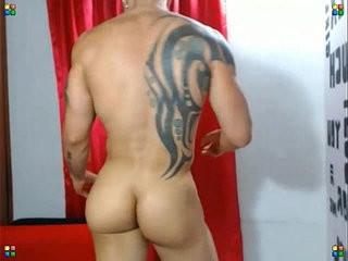 profi muscular butt   but clips  muscular  public