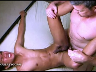 Daddy Fucks Asian Twink Benjamin | asian   daddy   foot   fucking   twinks