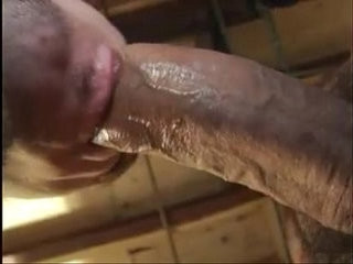 Extra huge cock sucking fucking with creampie | cocks   fucking   huge gay   sucking
