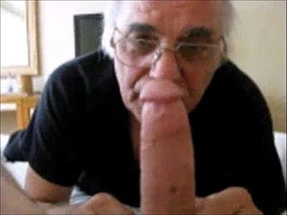 Old Man Sucking on a NIce big one | big porn   bigcock   man movie   nice   old   one films